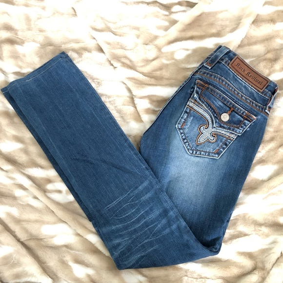 Rock Revival Denim - Rock Revival Jeans Pave Straight leg 28